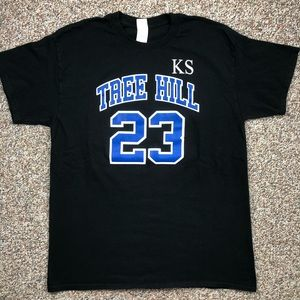One Tree Hill basketball t-shirt jersey L TV Show